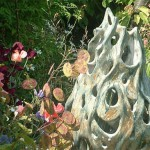 ceramic Norh London garden sculpture