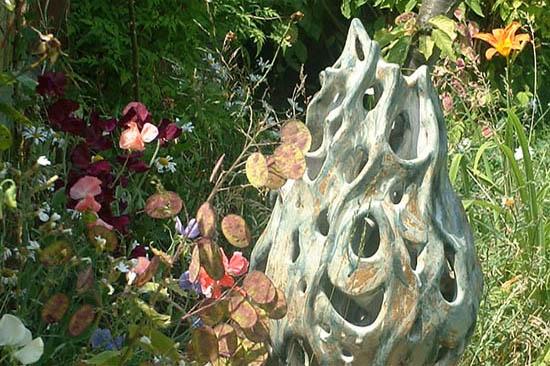 ceramic Norh London garden sculpture