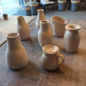 Students pots